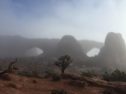 Windows at Arches NP