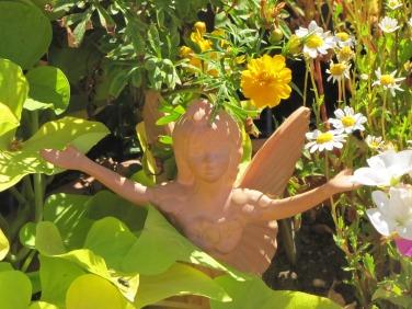 Fairy in garden Judy Burns photo